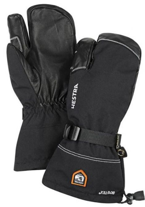 hot product 50% off new images of HESTRA ARMY LEATHER GTX 3 FINGER GLOVE