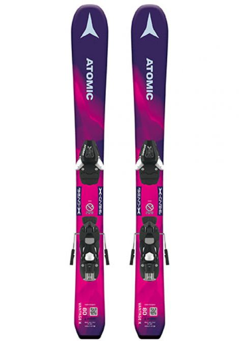 ATOMIC VANTAGE X GIRLS PURPLE W C 5  70-90