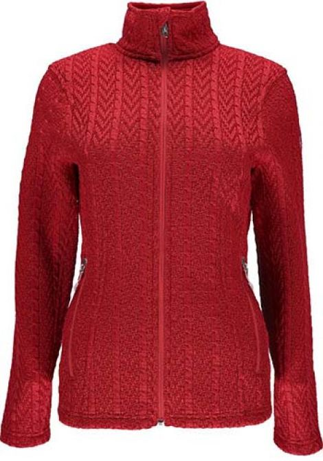 CABLE JACKET - RED