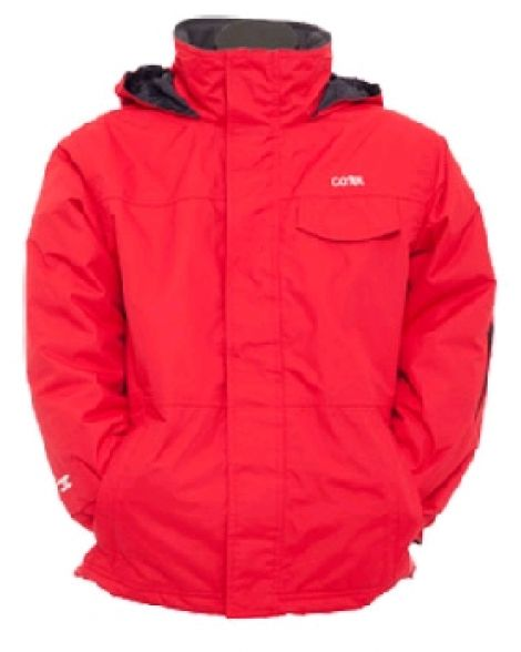 CARTEL MANFRED KIDS JACKET RED