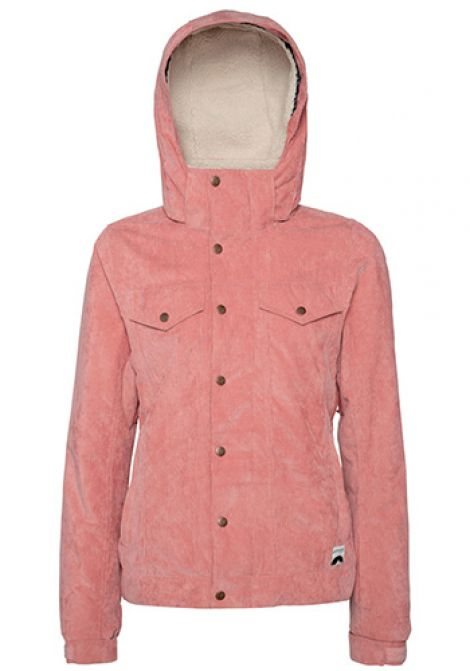 PROTEST WOMENS CUTIE JACKET THINK PINK