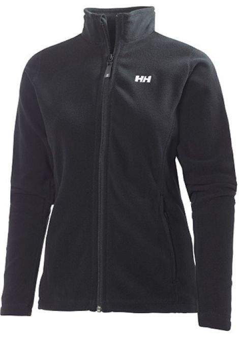 HELLY HANSEN WOMENS DAYBREAKER FLEECE JACKET BLACK