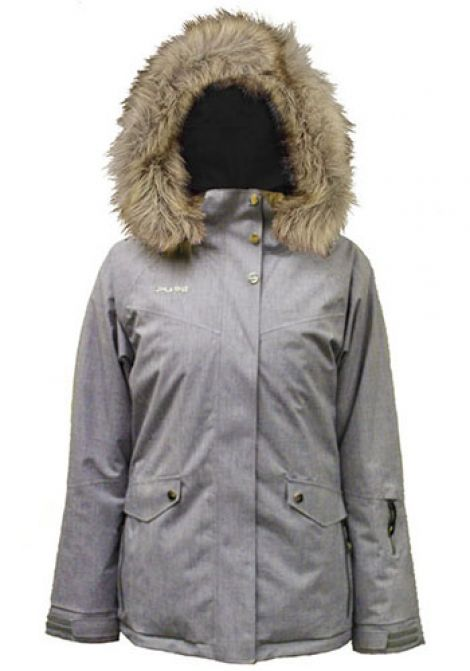 PURE HEAVENLY JACKET - SILVER HEATHER