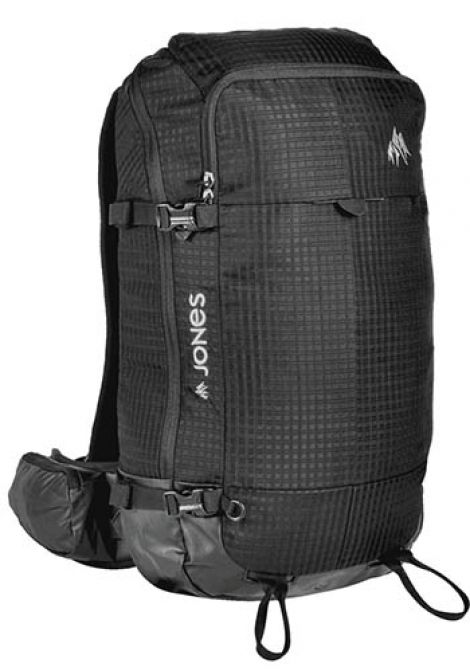JONES DESCENT BACKPACK 25L BLACK
