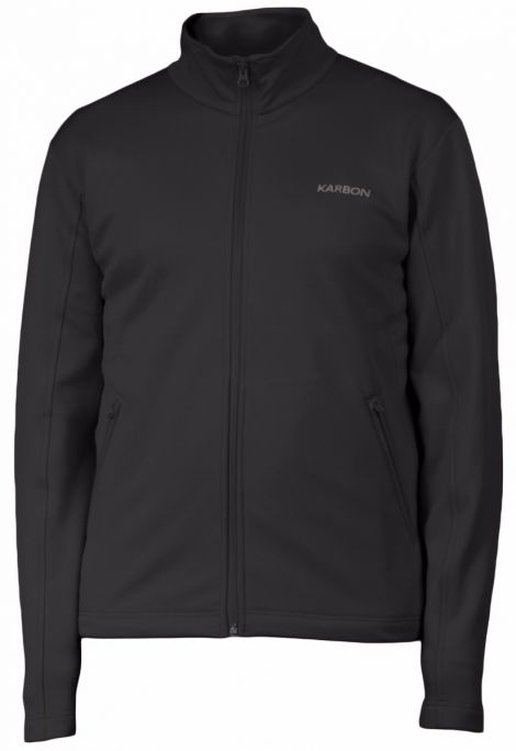 KARBON SOFTSTRETCH FORCE JACKET BLACK