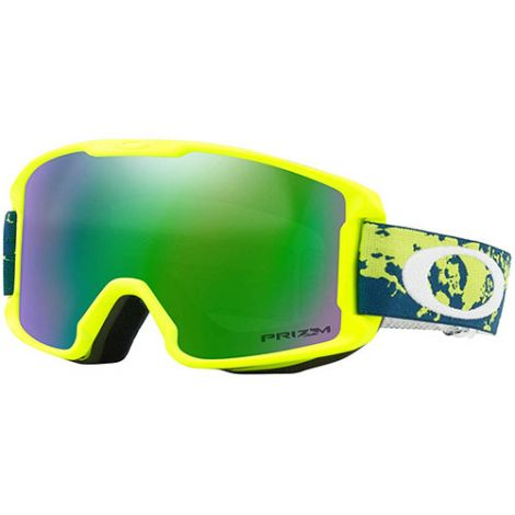 OAKLEY LINEMINER YOUTH  ARCTIC FRACTURE RETINA w PRIZM JADE