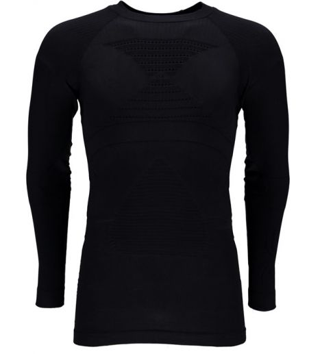SPYDER MENS SEAMLESS COMPRESSION TOP