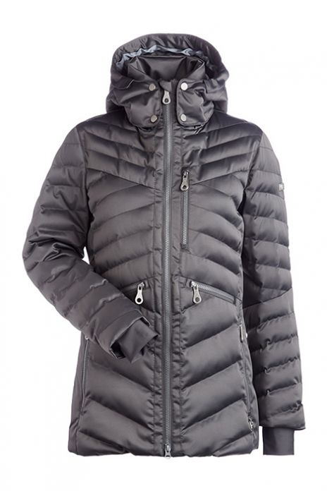 NILS RAINA LONG DOWN JACKET PEWTER