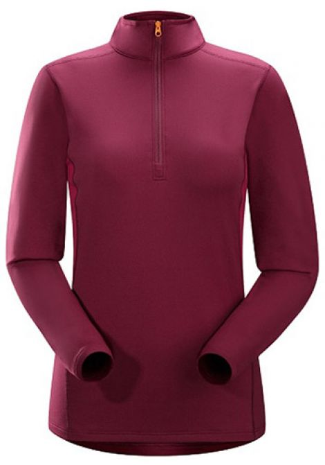 ARCTERYX PHASE ZIP ROSEBERRY