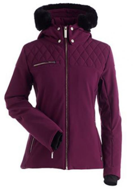 NILS PHILIPPA JACKET - PLUM