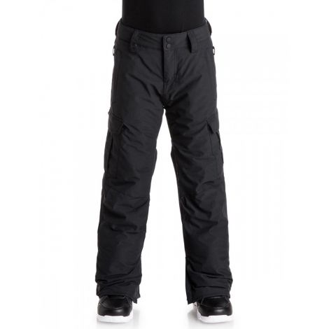QUIKSILVER PORTER YOUTH PANT BLACK
