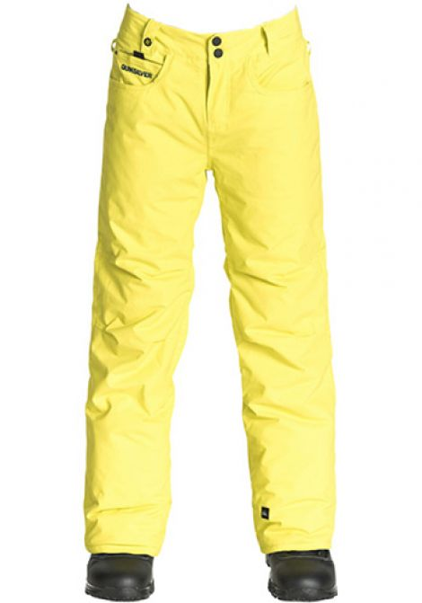 QUIKSILVER STATE YOUTH PANT SULPHUR