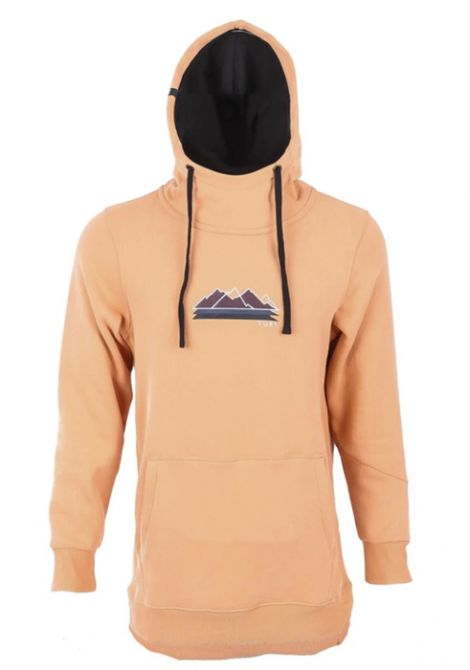 YUKI THREADS STACKED HOODIE - COPPER