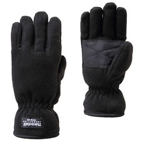 SUMMIT FLEECE GLOVE BLACK