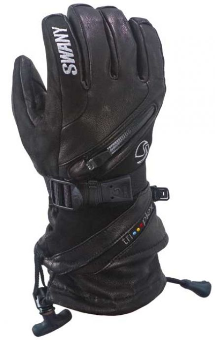 SWANY X CELL II GLOVE BLACK