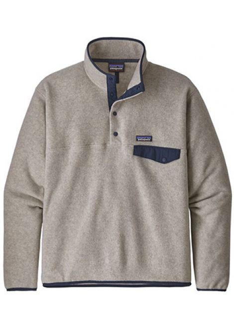 PATAGONIA MENS LIGHTWEIGHT SYNCHILLA SNAP OATMEAL HEATHER