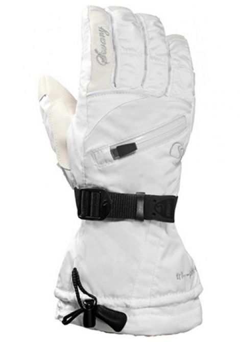 SWANY X THERM GLOVE - WHITE