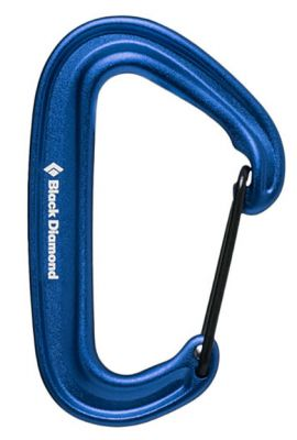 BLACK DIAMOND MINIWIRE CARABINER BLUE