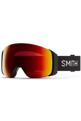 SMITH 4D MAG BLK CHROMAPOP SUN RED + STORM YELLOW FLASH ASIAN FIT
