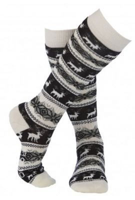 ROJO GIRLS NORDIC SNOWFLAKE SOCK