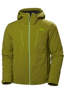 HELLY HANSEN ALPHA 3.0 JACKET WOOD GREEN