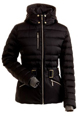 NILS ANNASTASIA GOOSE DOWN JACKET BLACK