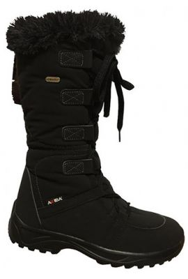 ATTIBA VENICE SIDE ZIP BOOT BLACK