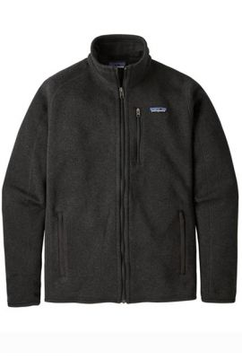 PATAGONIA MS BETTER SWEATER FULL ZIP BLACK