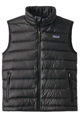 PATAGONIA BOYS DOWN SWEATER VEST BLACK