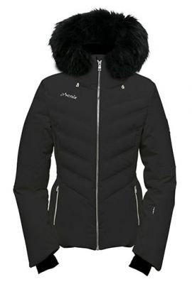 PHENIX CHLOE DOWN FUR JACKET BLACK