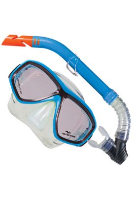 CLEARWATER SILICONE MASK/SNORKEL SET