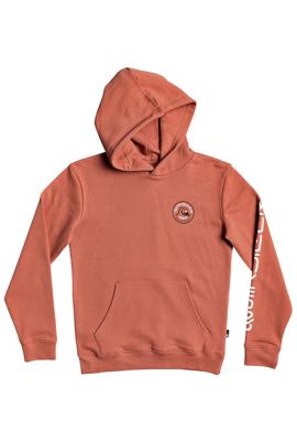 QUIKSILVER CLOSE CALL YOUTH HOOD REDWOOD
