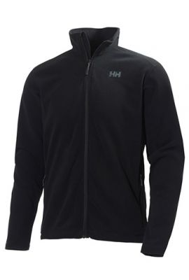 HELLY HANSEN DAYBREAKER MS ZIP FLEECE BLACK