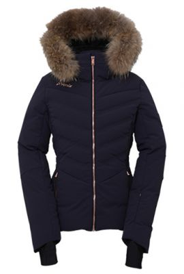 PHENIX DIAMOND DOWN FUR JACKET DARK NAVY
