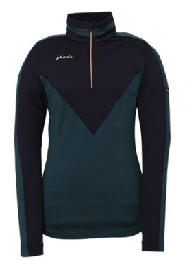 PHENIX FLUORITE 1/2 ZIP SKIVVY GREEN