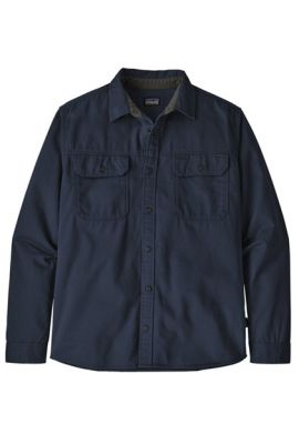 PATAGONIA MS FOUR CANYONS TWILL SHIRT NAVY