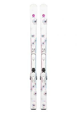 ROSSIGNOL FUN GIRL SKIS w XPRESS 7 JUNIOR BINDING