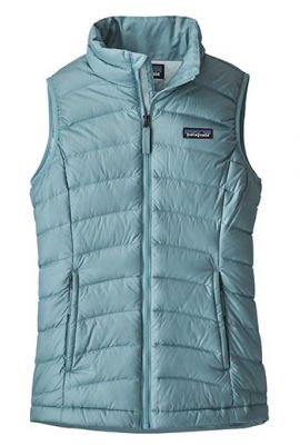 PATAGONIA GIRLS DOWN SWEATER VEST SKY BLUE