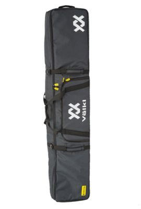 VOLKL DOUBLE WHEELED SKI BAG 200CM GRAPHITE HEATHER