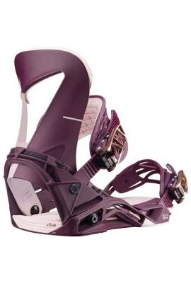 SALOMON HOLOGRAM WMS BINDINGS PINK S