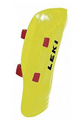 LEKI SHIN GUARD WC PRO NEON YELLOW