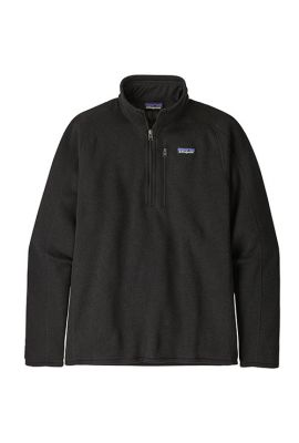 PATAGONIA MS BETTER SWEATER 1/4 ZIP BLK