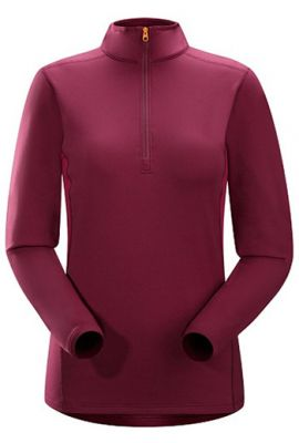 ARCTERYX WMNS PHASE SV ZIP NECK