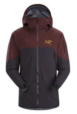 ARCTERYX MS RUSH JACKET BLACK BACCARA