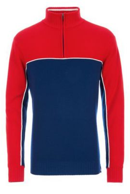MEISTER MS BRYCE KNIT RED/NAVY/WHITE