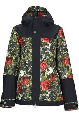 NIKITA SEQUOIA JACKET BLK/CAMO POP