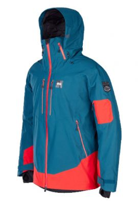 PICTURE TRACK MS JACKET PETROL BLUE