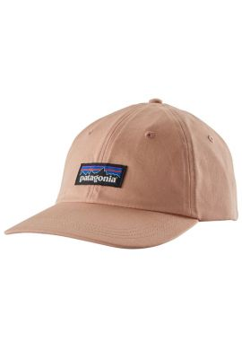 PATAGONIA P6 LABEL TRAD CAP CLASSIC SCOTCH PINK
