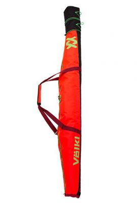 VOLKL RACE SINGLE SKI BAG 165CM + 30CM RED