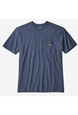 PATAGONIA MS WORK POCKET TEE STONE BLUE